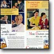 "These prominent ads of the late 1940s, pitched at both doctors and the general public, subtly sought to subvert emerging statistical and epidemiological knowledge by inviting doctors and patients to ""make your own test.""  (Credit: R.J. Reynolds, 1946)"